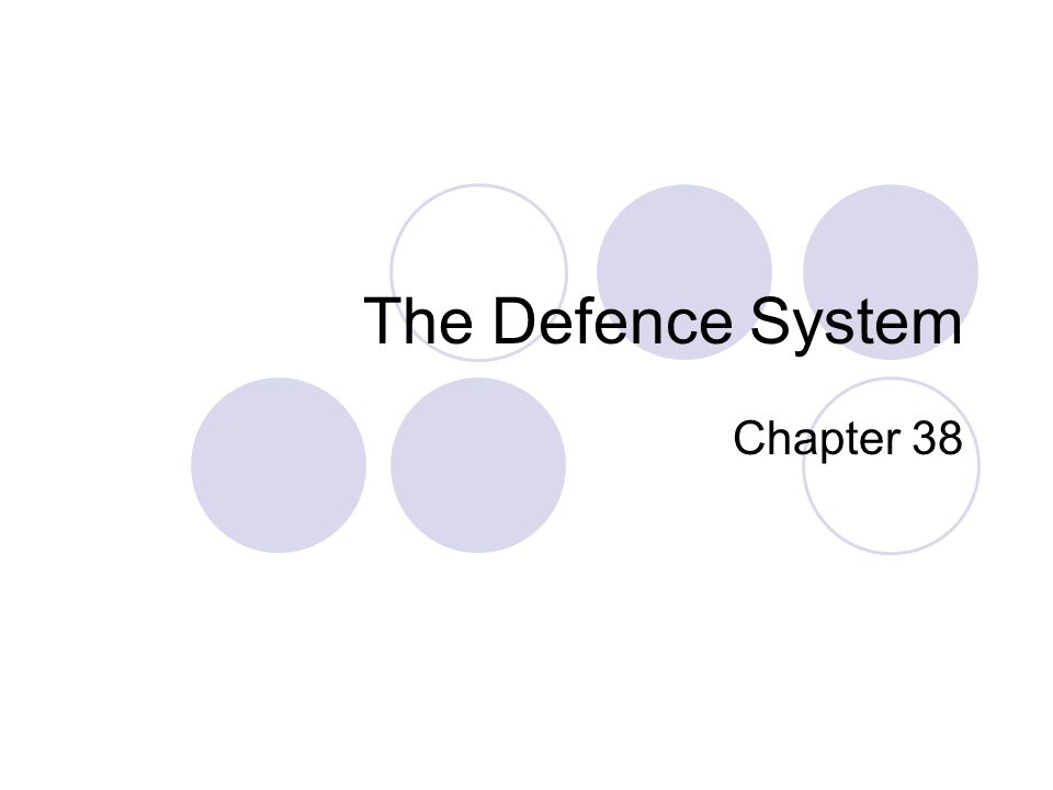 The Defence System Chapter 38