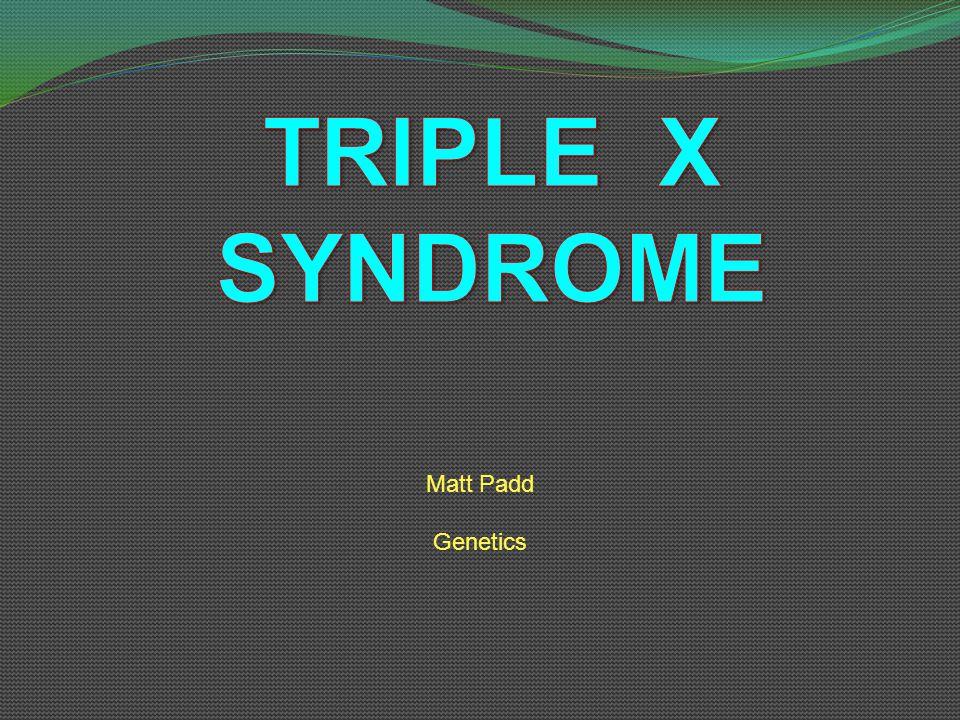 Matt Padd Genetics