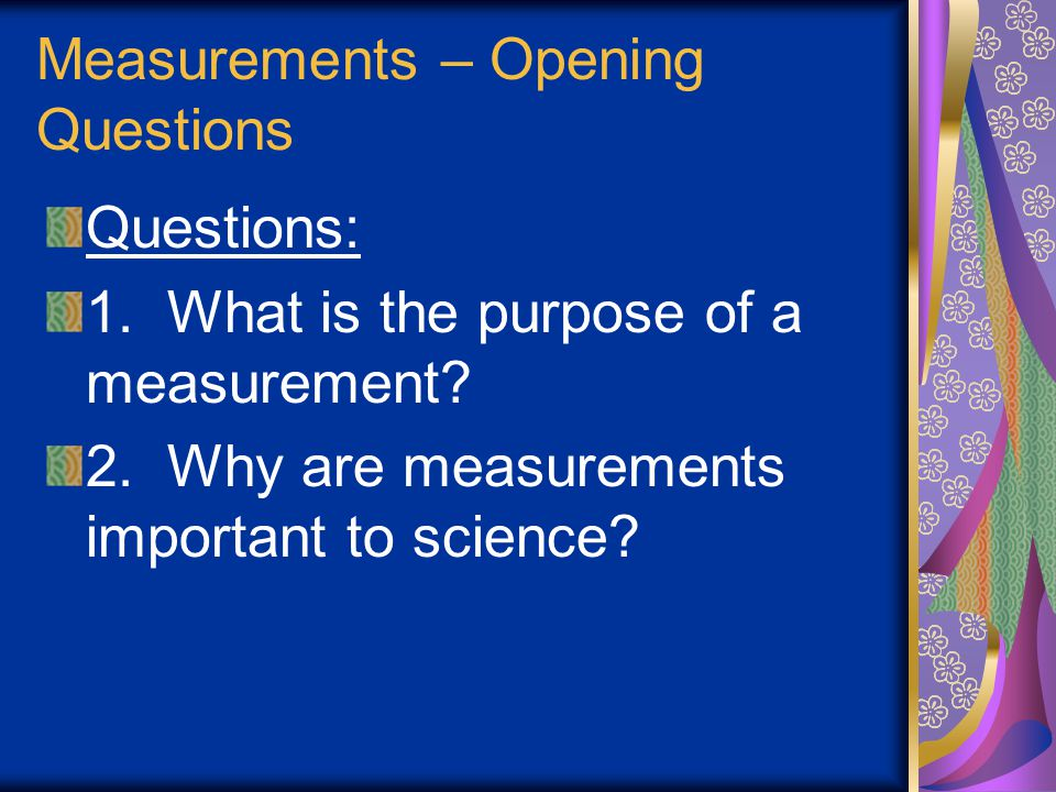 Chemistry February 12, 2007 1) Begin Unit on Measurements 2) Notes on measurements, accuracy, precision 3) HW: WS 2.1
