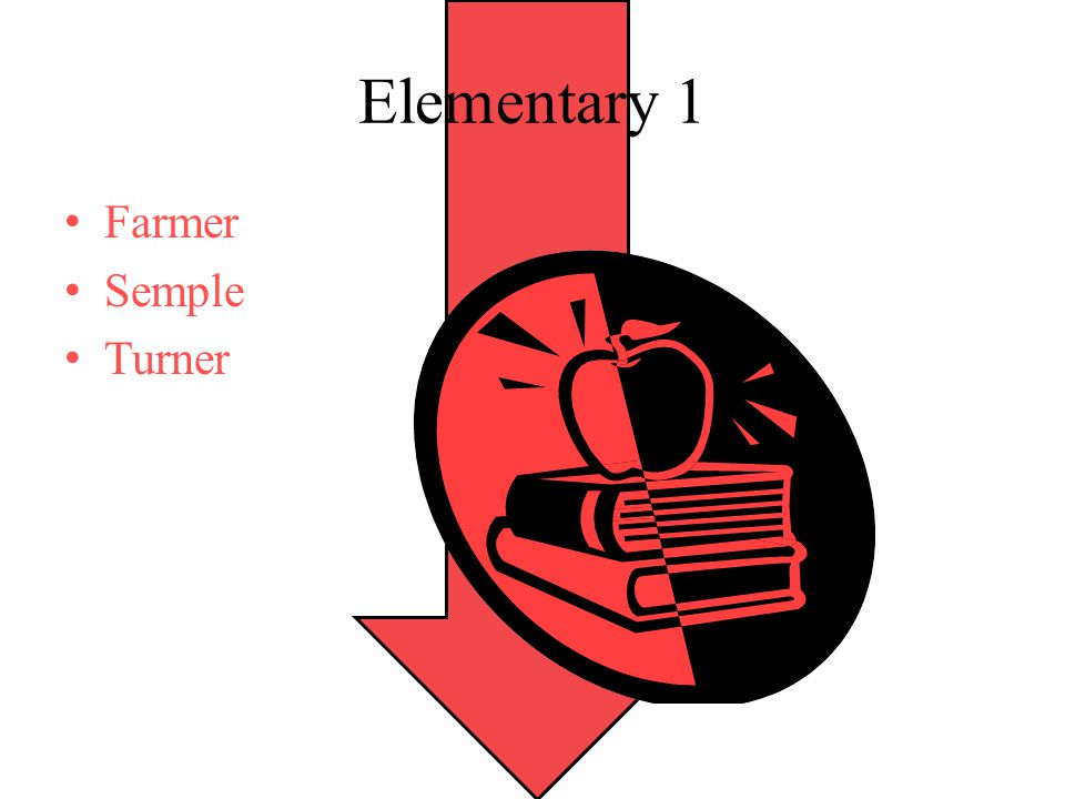 Elementary 1 Farmer Semple Turner