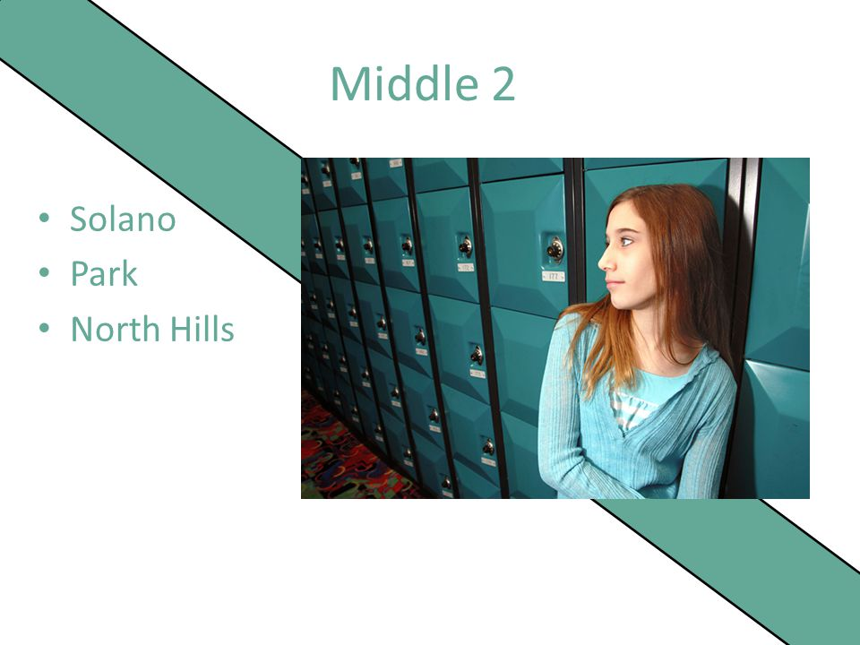 Middle 2 Solano Park North Hills
