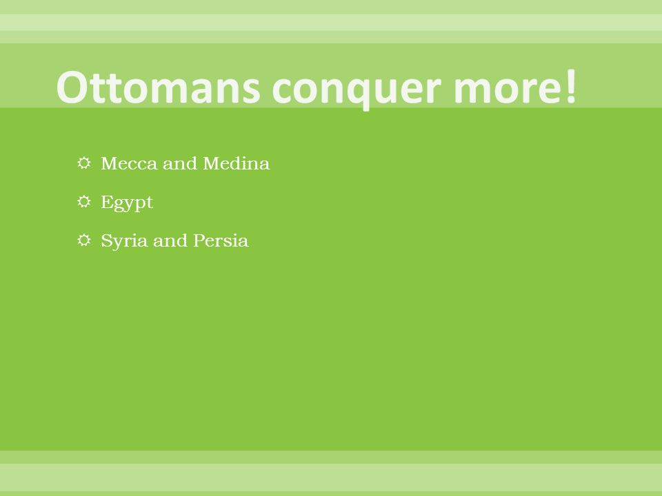 Mecca and Medina  Egypt  Syria and Persia