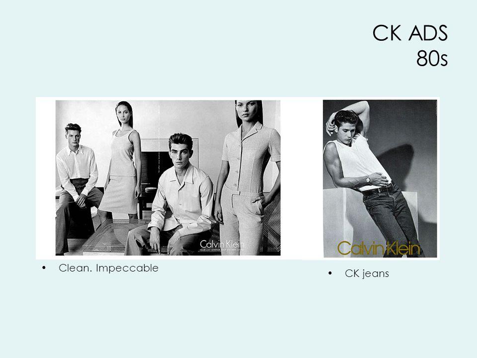 CK jeans CK ADS 80s Clean. Impeccable