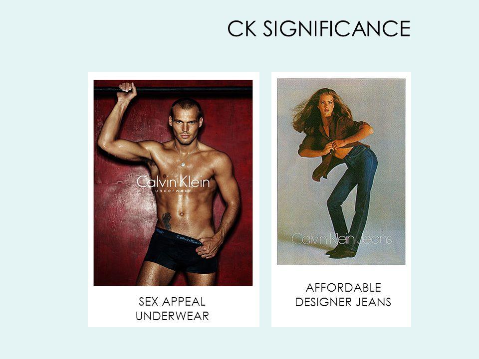 AFFORDABLE DESIGNER JEANS CK SIGNIFICANCE SEX APPEAL UNDERWEAR