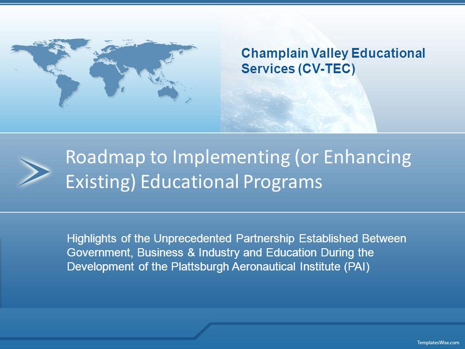 Champlain Valley Educational Services (CVES) CVES 518 Rugar Street Plattsburgh, New York 12901 (518) 536-7344