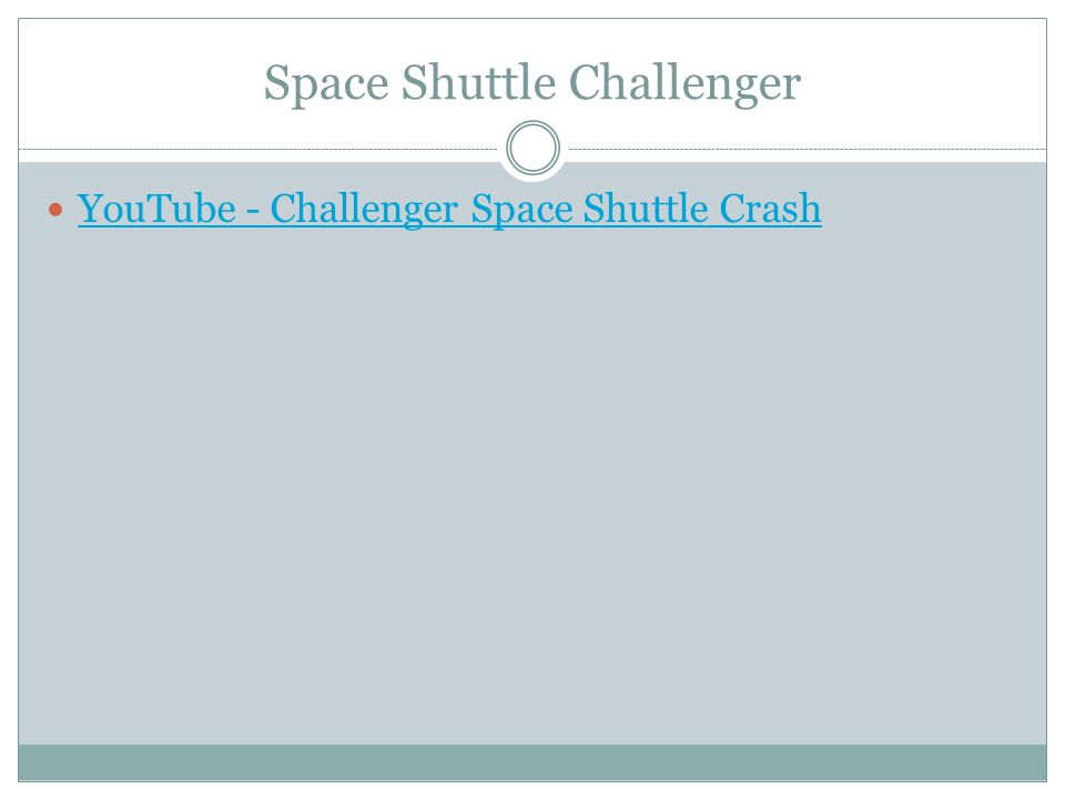 Space Shuttle Challenger YouTube - Challenger Space Shuttle Crash