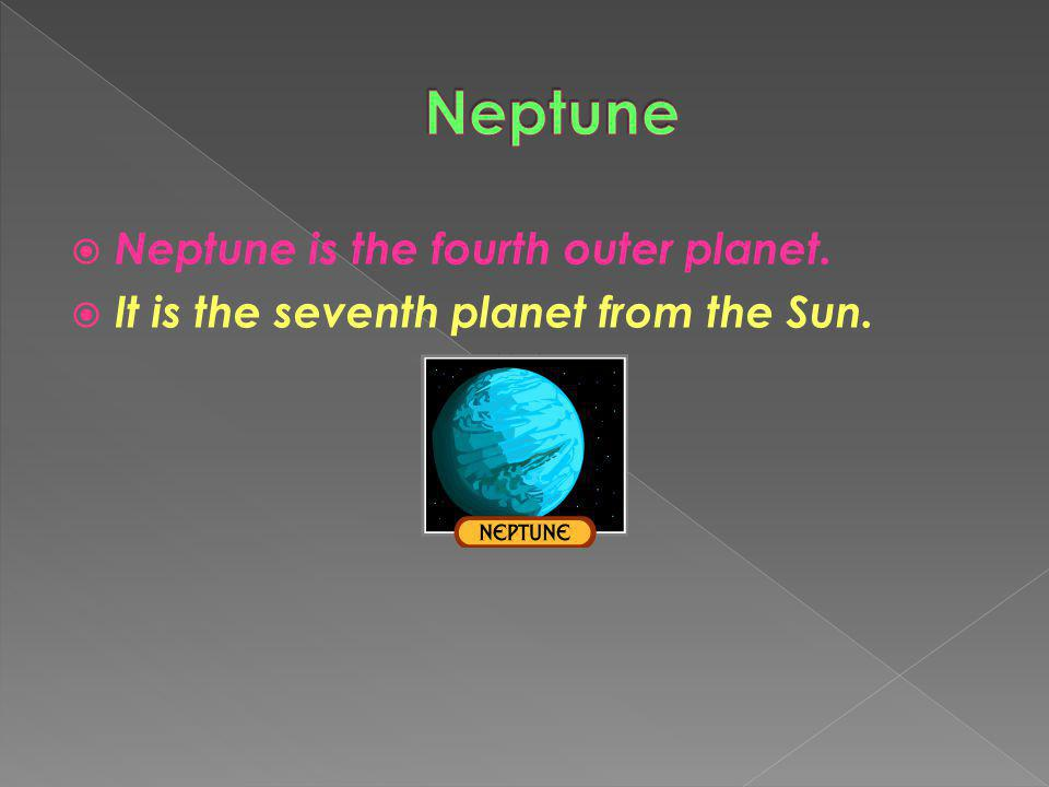 Uranus is the seventh outer planet. IIt is the sixth planet from the Sun.
