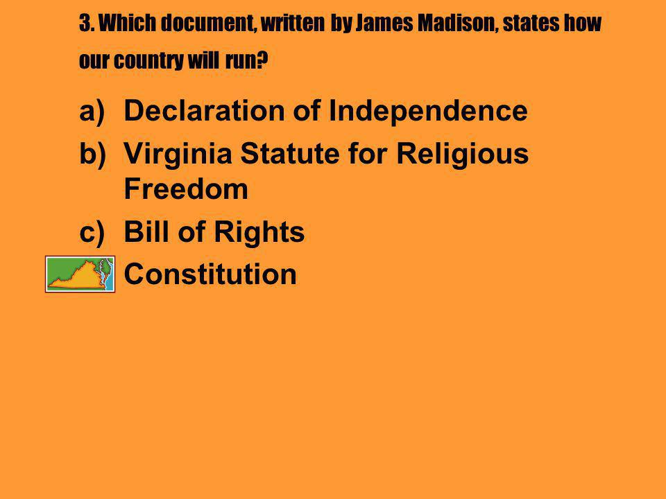 13.Virginians who were loyal to England were called _____________.