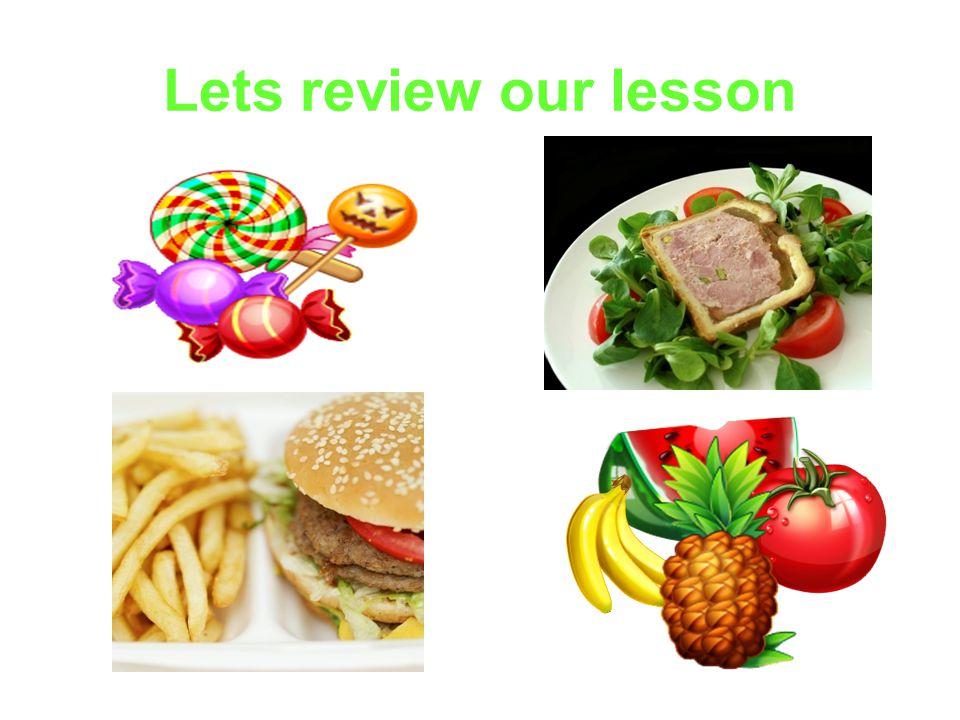 Lets review our lesson
