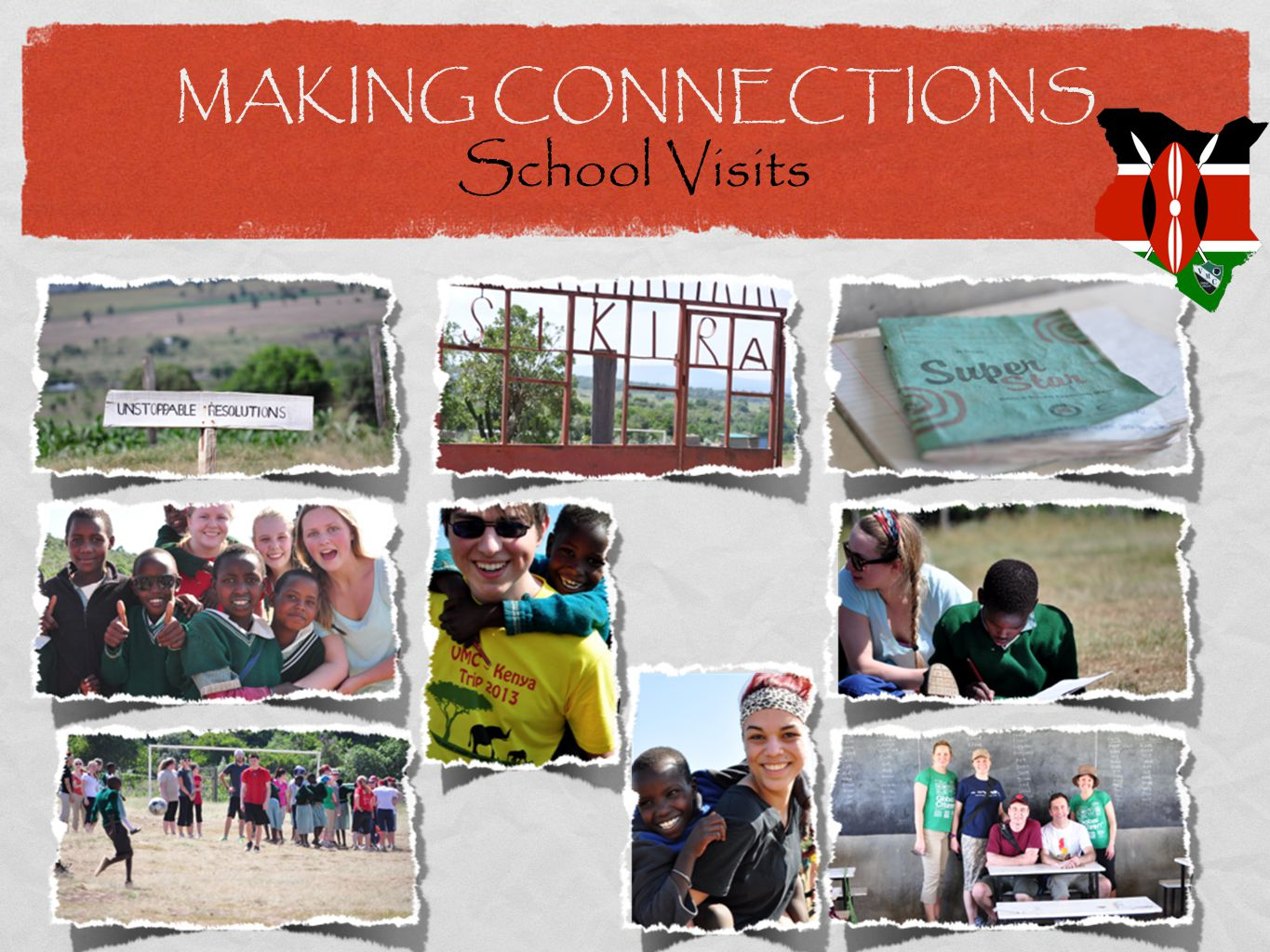 MAKING CONNECTIONS School Visits