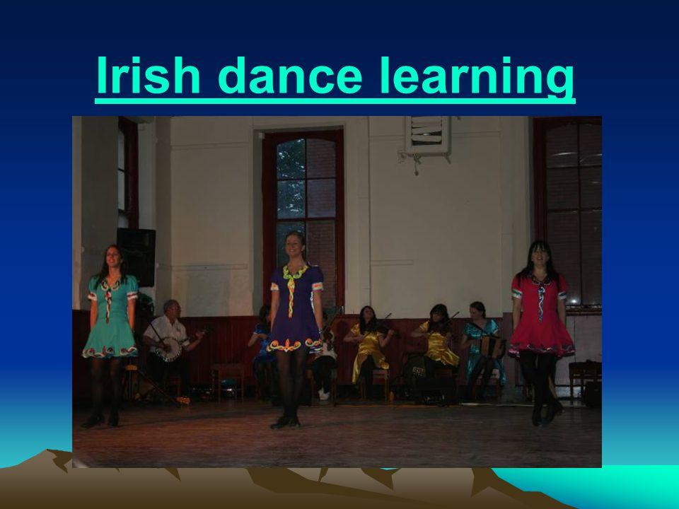 Irish dance learning
