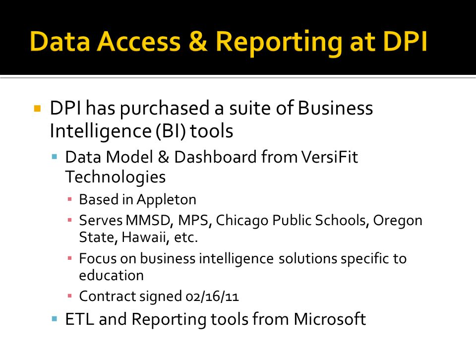 Example Reports & Dashboards