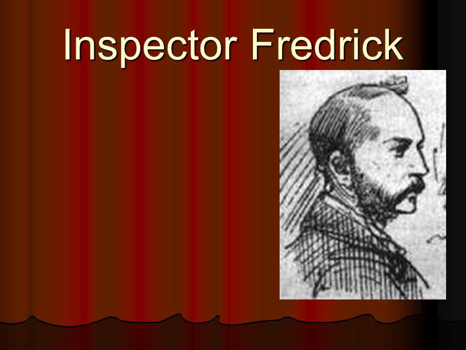 Inspector Fredrick