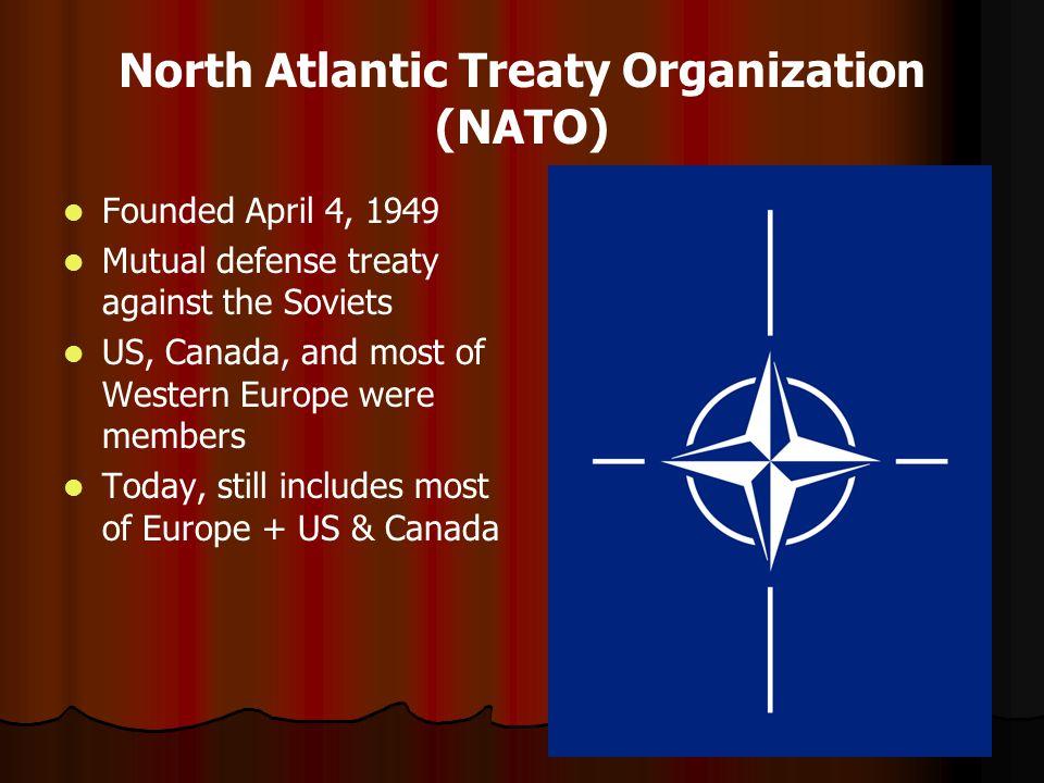the north atlantic treaty organization essay View north atlantic treaty organization research papers on academiaedu for free.