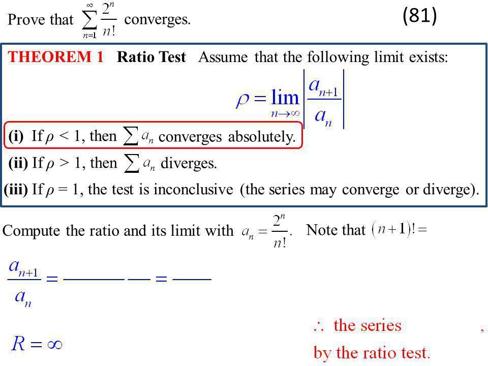 Prove thatconverges.