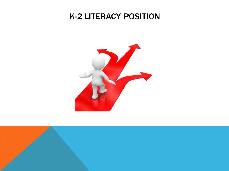 K-2 LITERACY POSITION