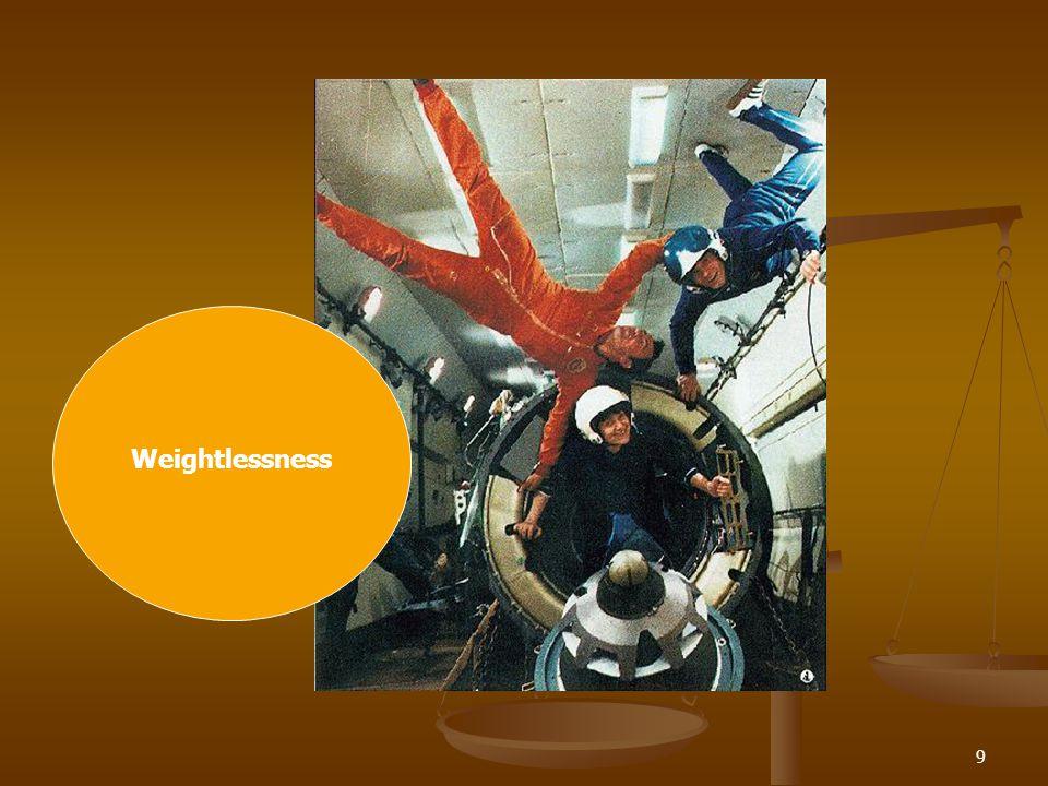9 Weightlessness