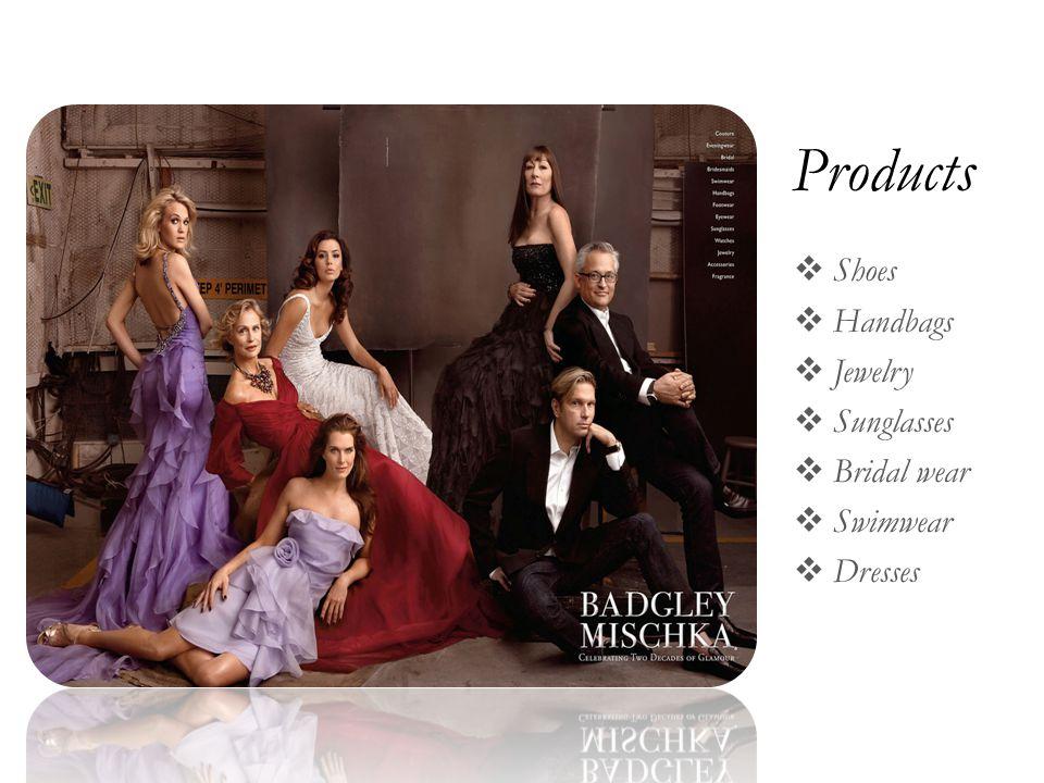 Products  Shoes  Handbags  Jewelry  Sunglasses  Bridal wear  Swimwear  Dresses