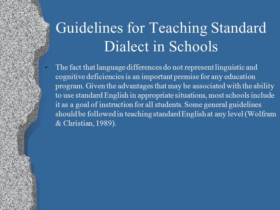 Teaching Standard Dialect Fox News -Fox News