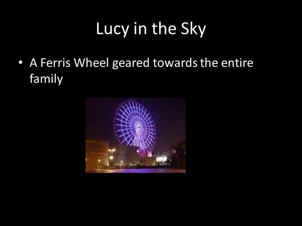 Lucy in the Sky A Ferris Wheel geared towards the entire family