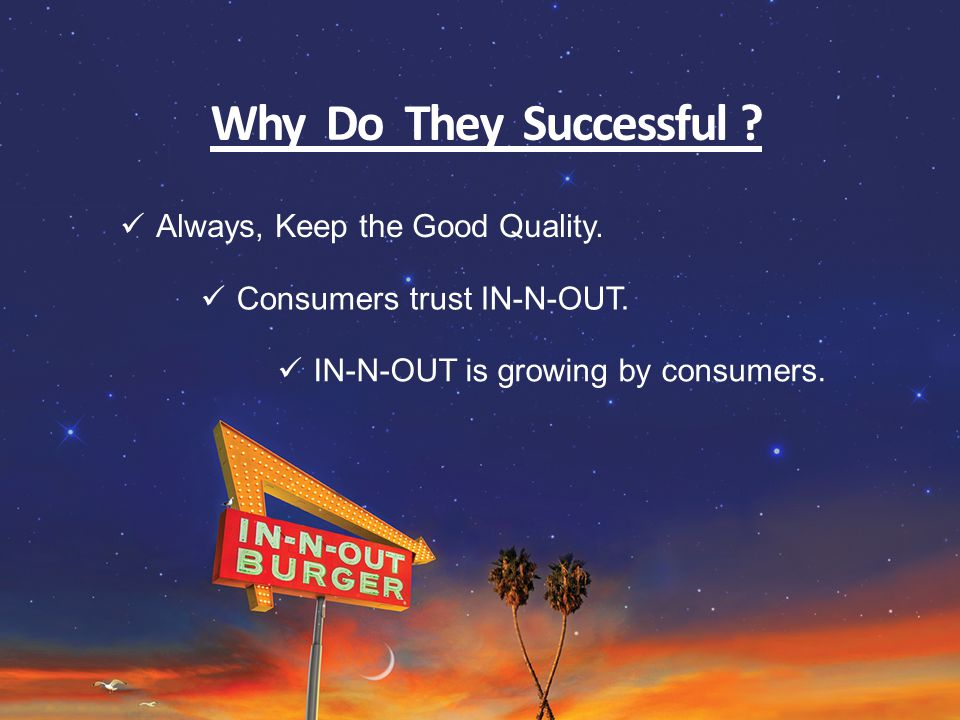 Why Do They Successful .Always, Keep the Good Quality.