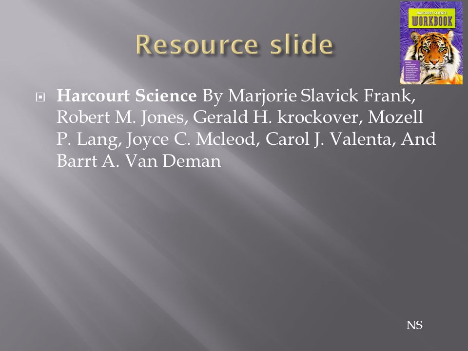  Harcourt Science By Marjorie Slavick Frank, Robert M.