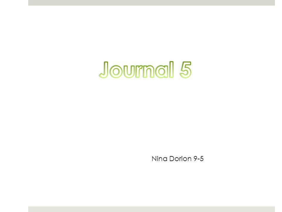 Nina Dorion 9-5