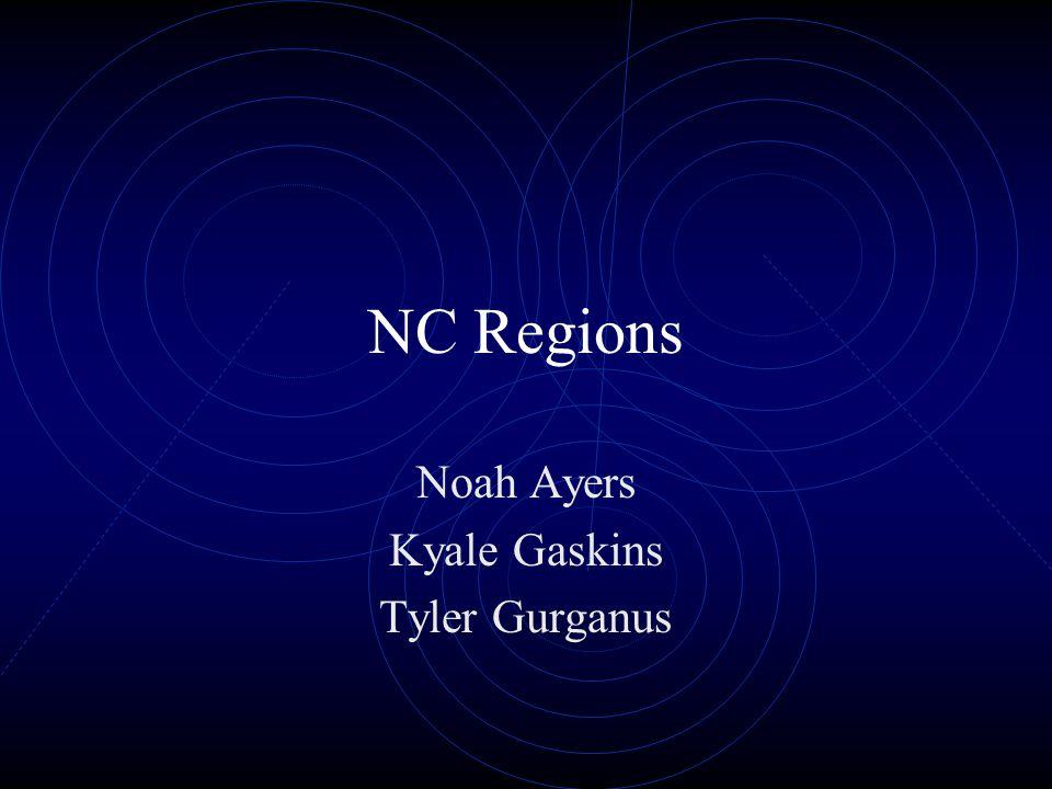 NC Regions Noah Ayers Kyale Gaskins Tyler Gurganus
