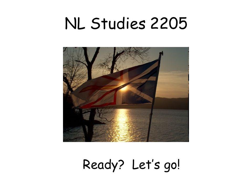 NL Studies 2205 Ready? Let's go!