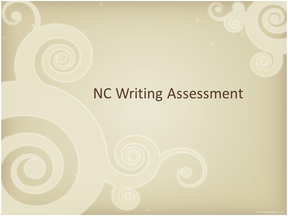 NC Writing Assessment