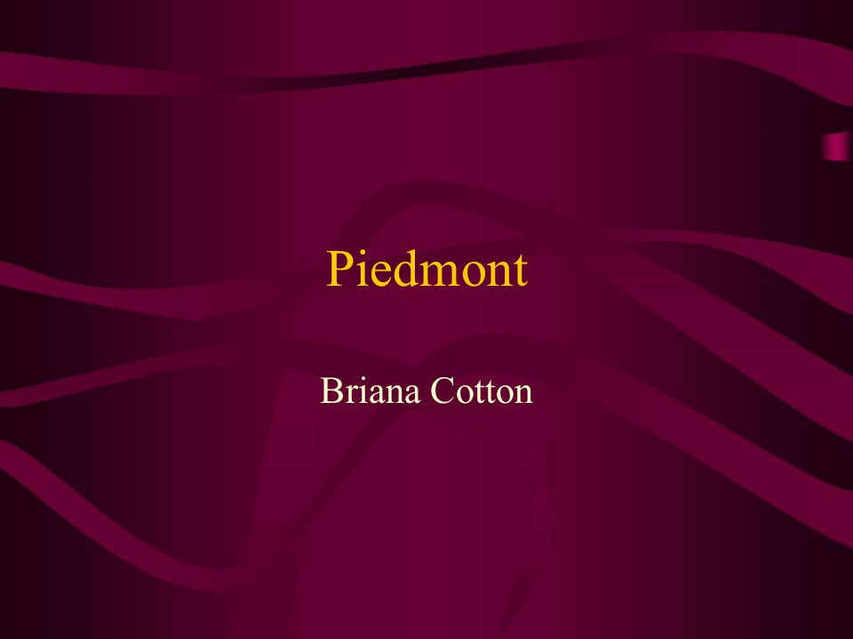Piedmont Briana Cotton