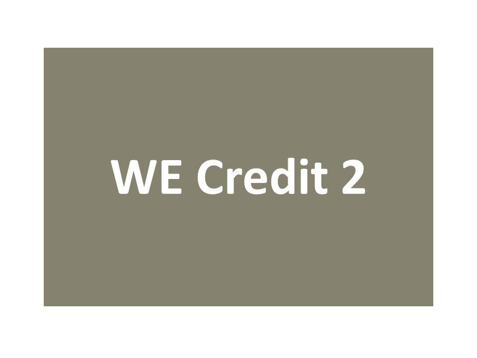WE Credit 2