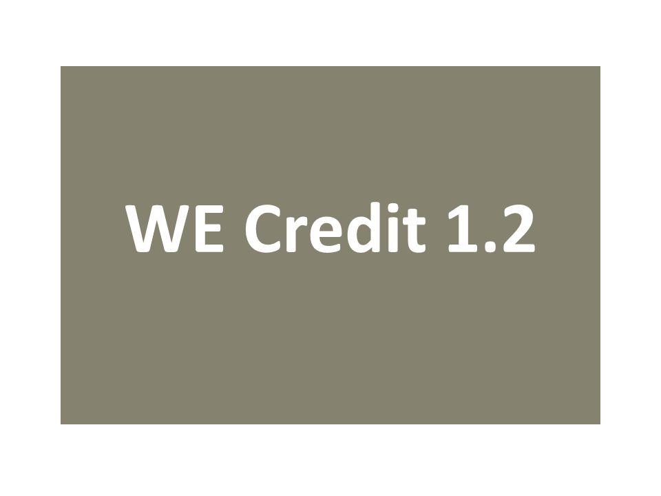 WE Credit 1.2
