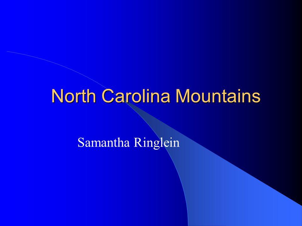 North Carolina Mountains Samantha Ringlein