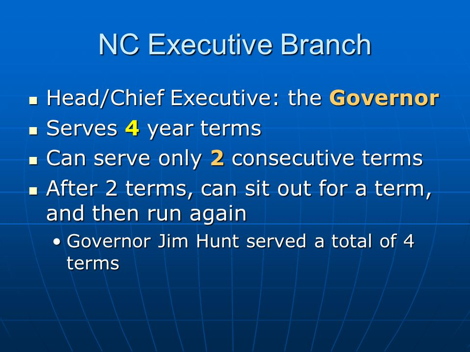 Governor's Responsibilities 1.appoints key state officials 1.