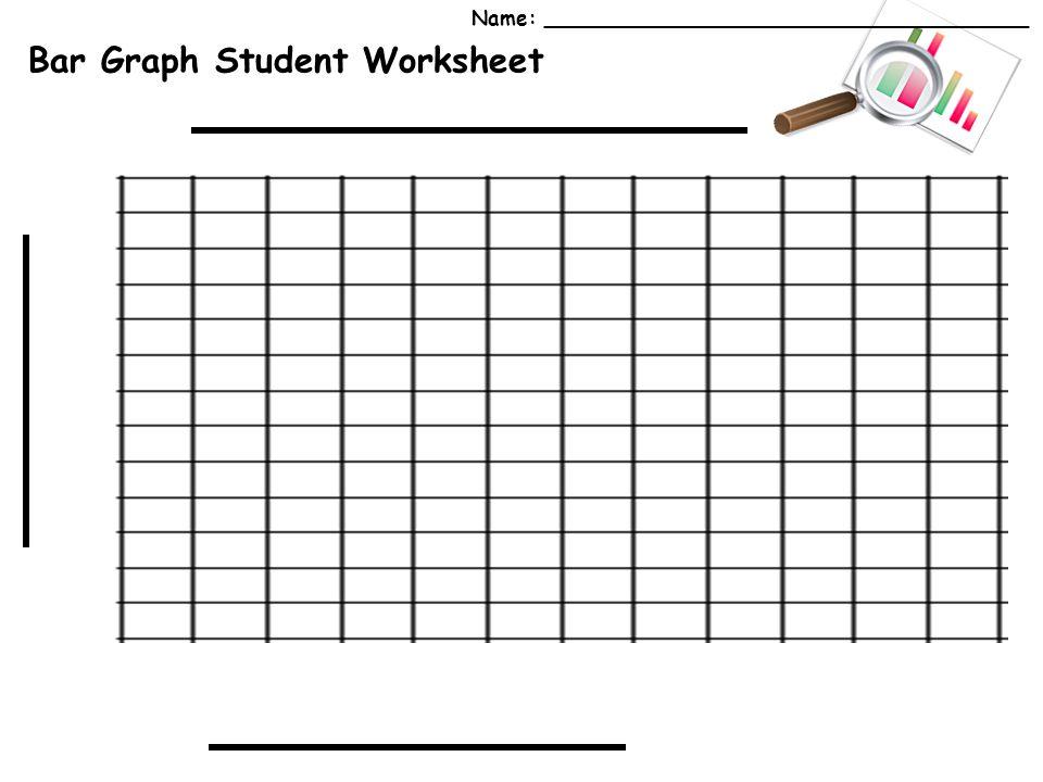 Bar Graph Student Worksheet Name: ______________________________________