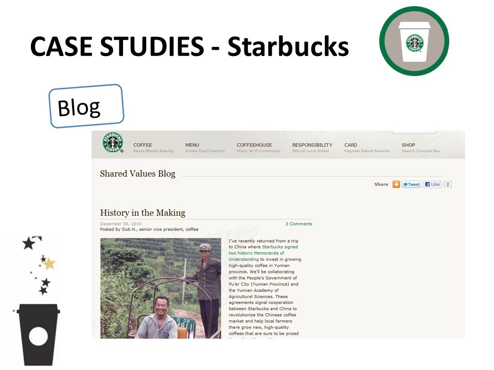 CASE STUDIES - Starbucks Blog