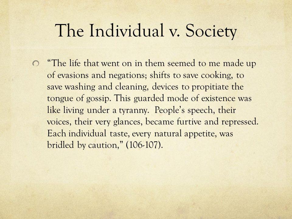 The Individual v.