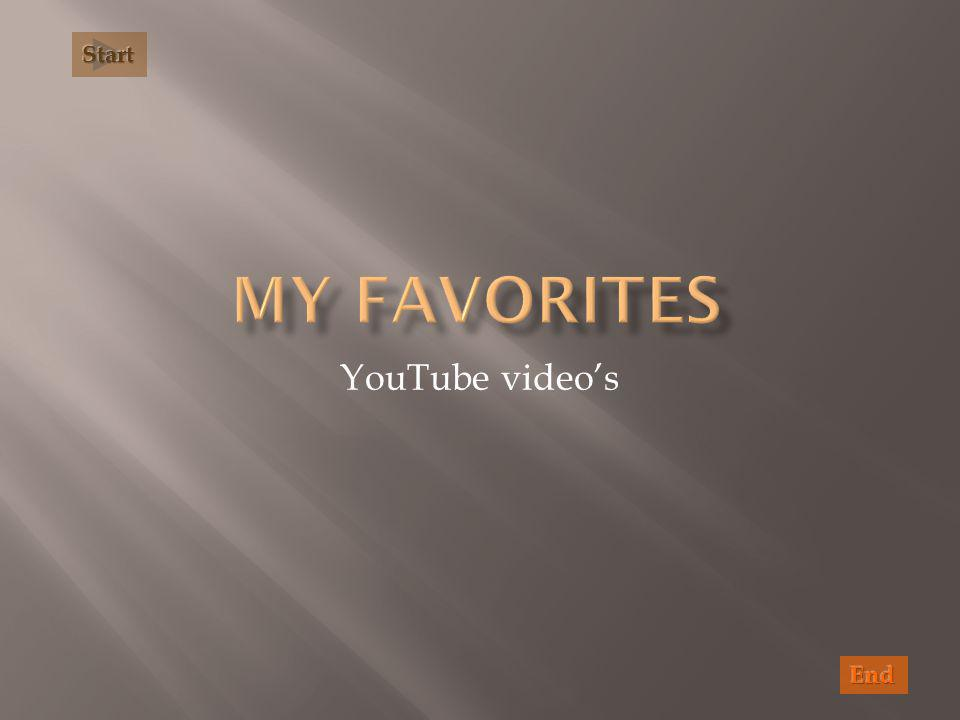 YouTube video's