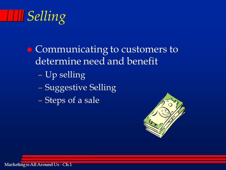 Marketing is All Around Us - Ch.1 Preventing or reducing business loss Ex.