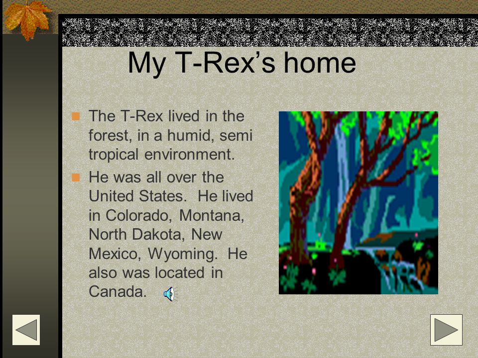My T-Rex was BIG. His teeth were about 6 inches long and very jagged.