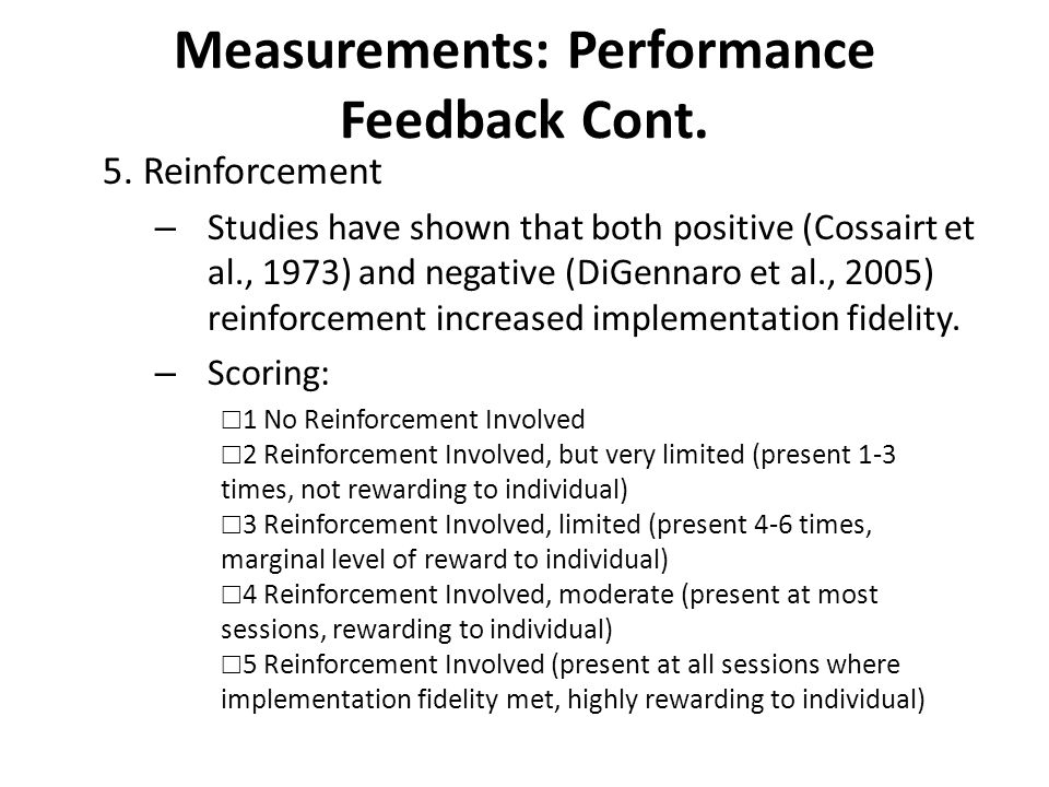 Measures: Student Outcomes OpportunityStaff scoreStaff initialsEH score P3 to P40 1 2 1 st 5 minutes P40 1 2 P6 to P70 1 2 1 st 5 minutes of P70 1 2 P7 to HR0 1 2 1 st 5 minutes of HR0 1 2 Each researcher created their own student outcomes measurement tool specifically designed to fit their individual case.