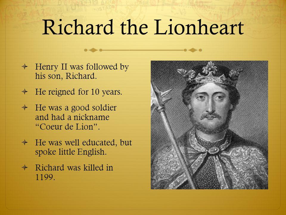 John I (Lackland)  John I inherited the throne of England.