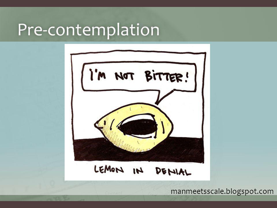 Pre-contemplation manmeetsscale.blogspot.com