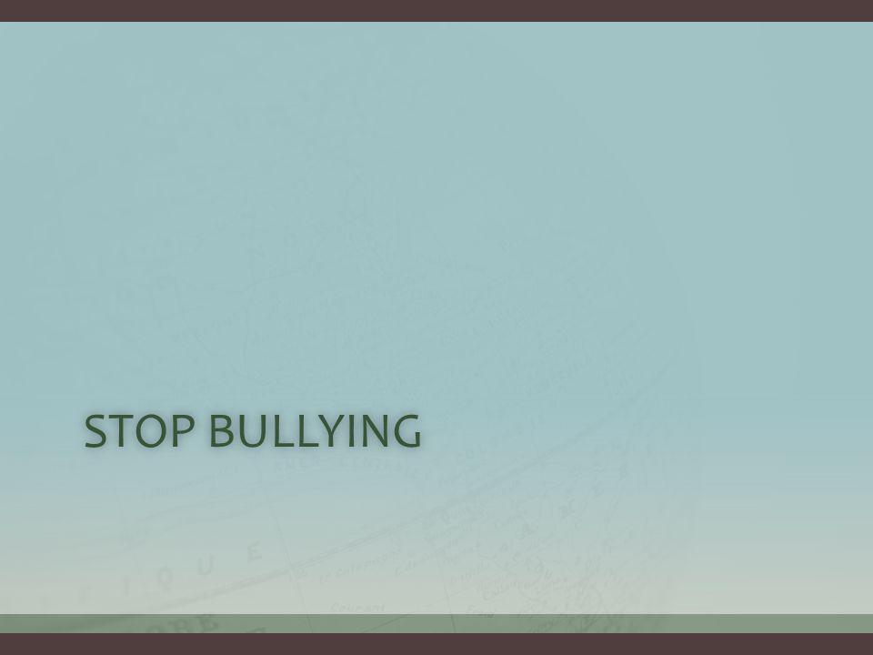 STOP BULLYINGSTOP BULLYING