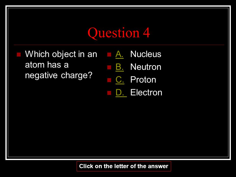 CORRECT! GO TO THE NEXT QUESTION