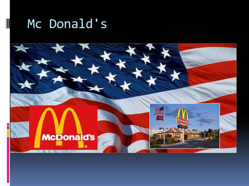 Mc Donald s