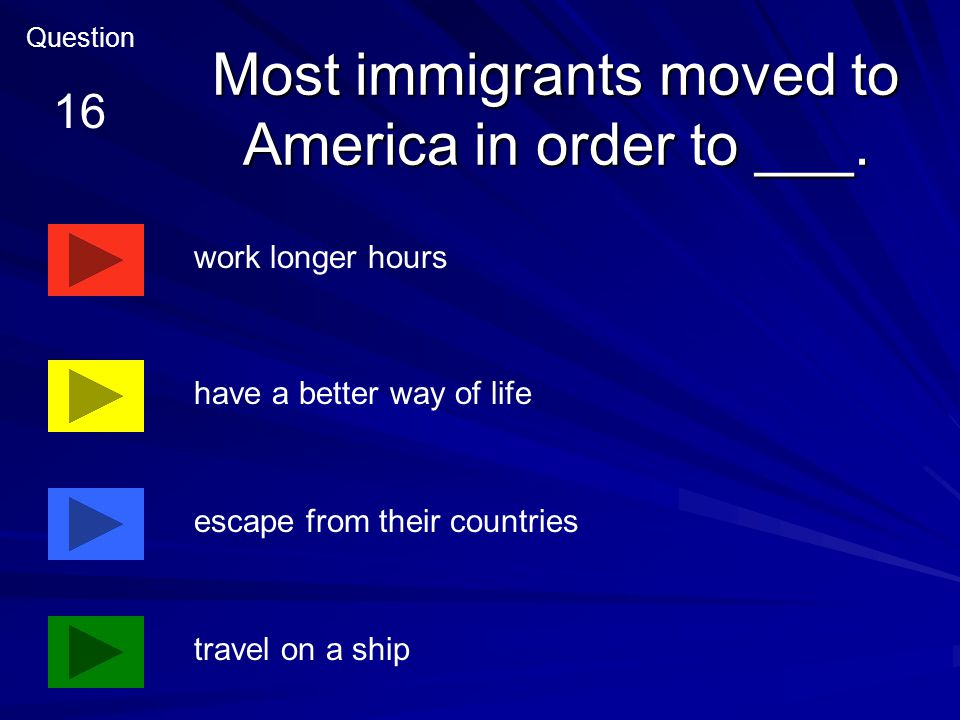 After settling in the Northeast, many immigrants ___.