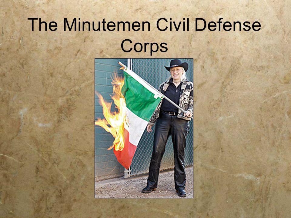 The Minutemen Civil Defense Corps