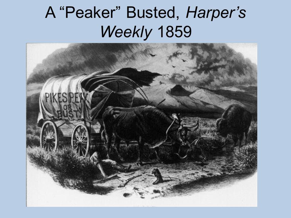 "A ""Peaker"" Busted, Harper's Weekly 1859"